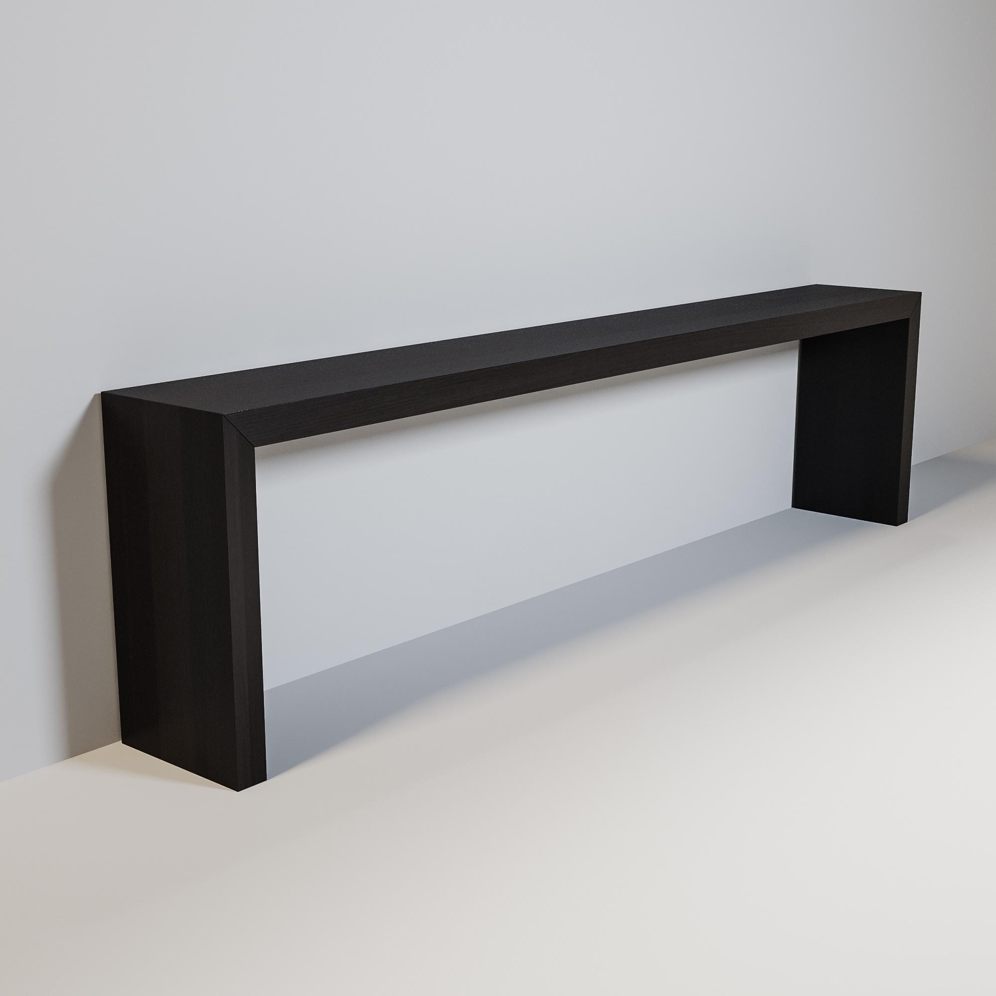 MAYFAIR Console smoke wood 300cm-1
