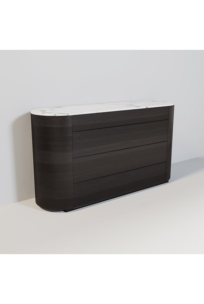 ALDO Sideboard Charcoal Oak