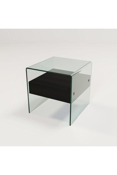Kimberly Side Table Charcoal Oak