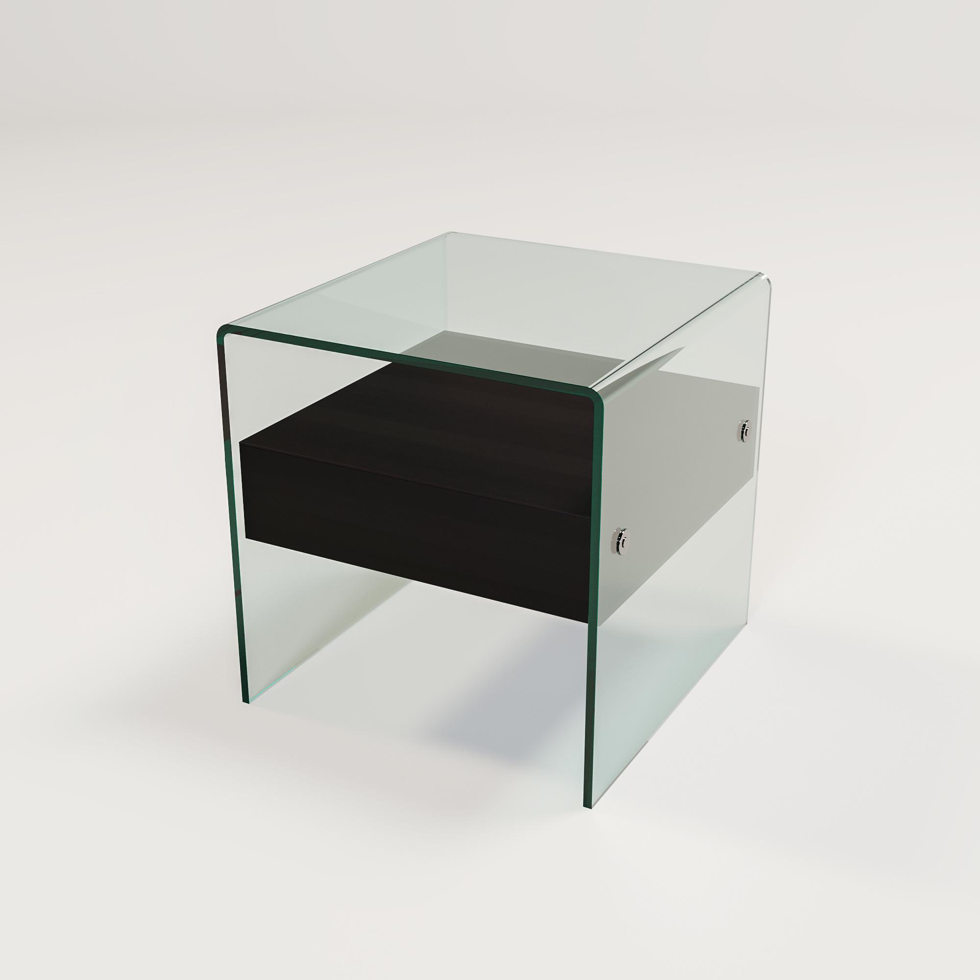 Kimberly Side Table Charcoal Oak-1