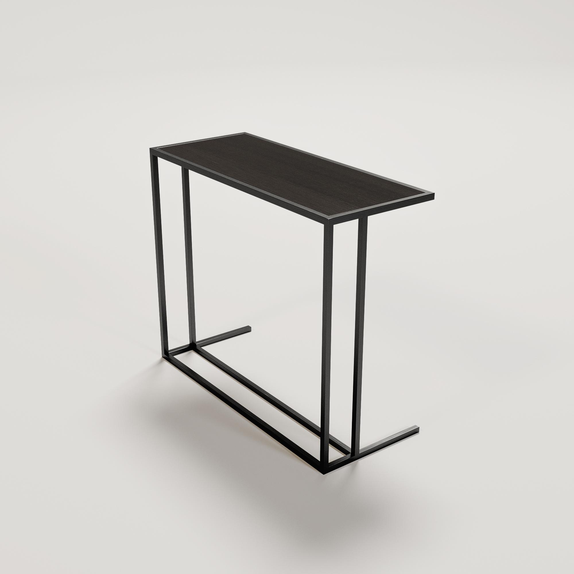 MASSIMO Sofa Table Charcoal Oak-1