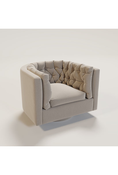 BARI Swivel arm chair