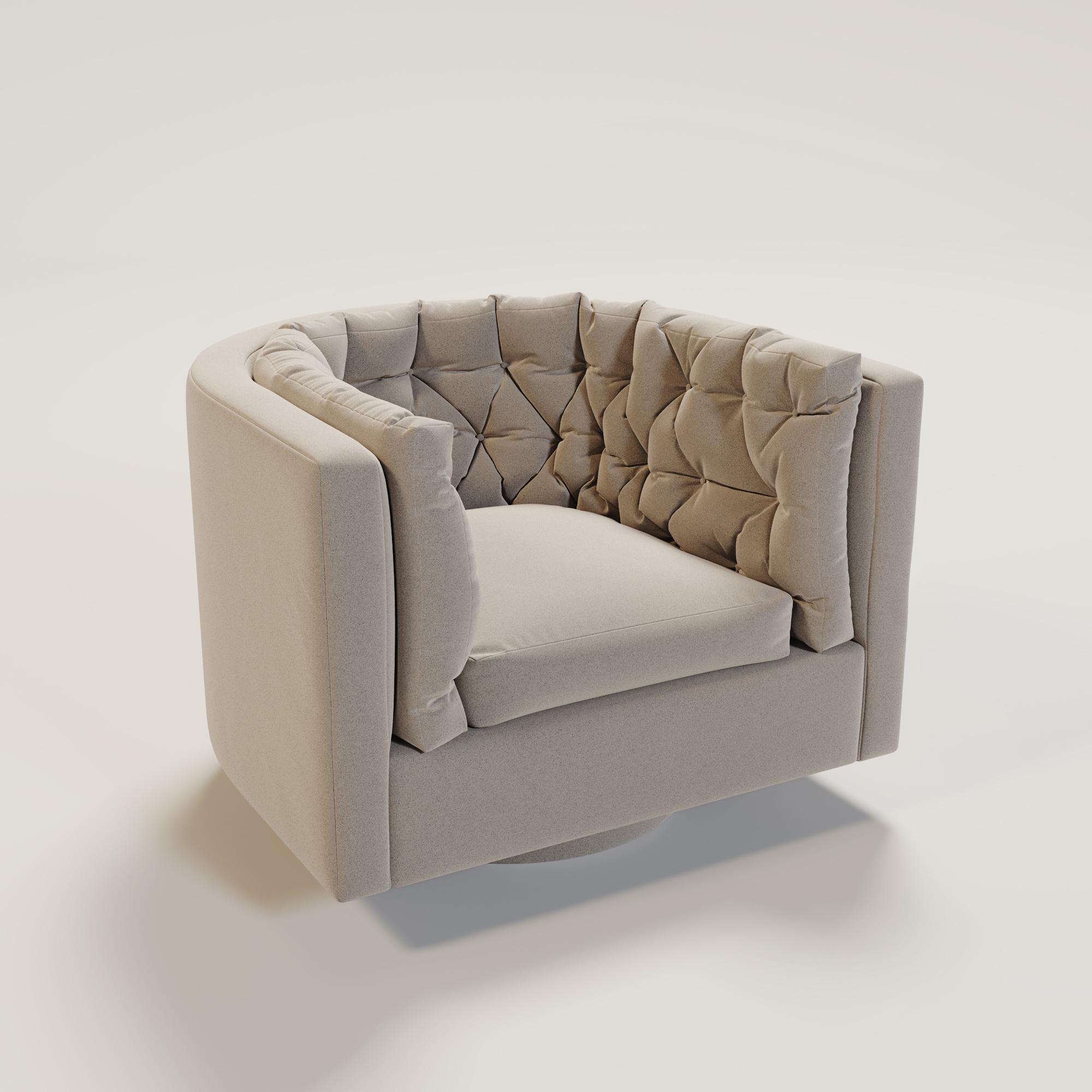 BARI Swivel arm chair-1