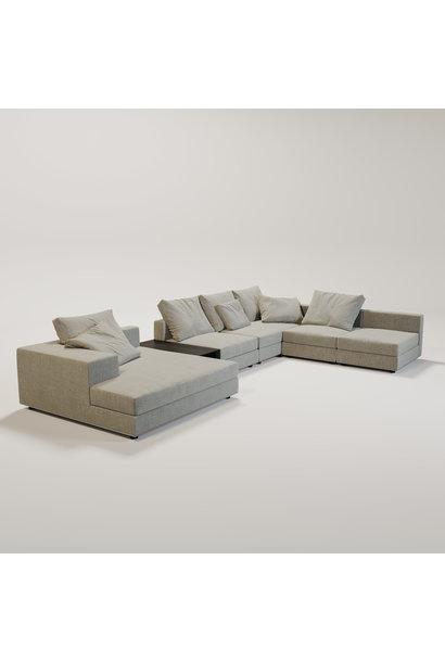 MASSIMO  Sofa Grey weave fabric