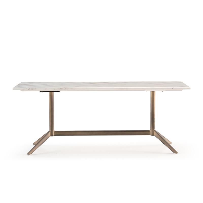 LUNA console white marble-2