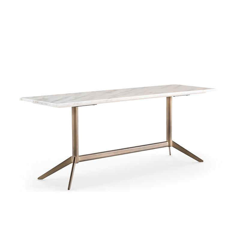 LUNA console white marble-1
