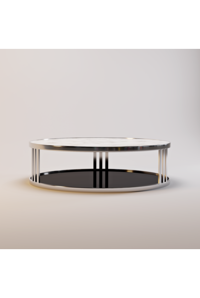 FABRIO coffee table white marble