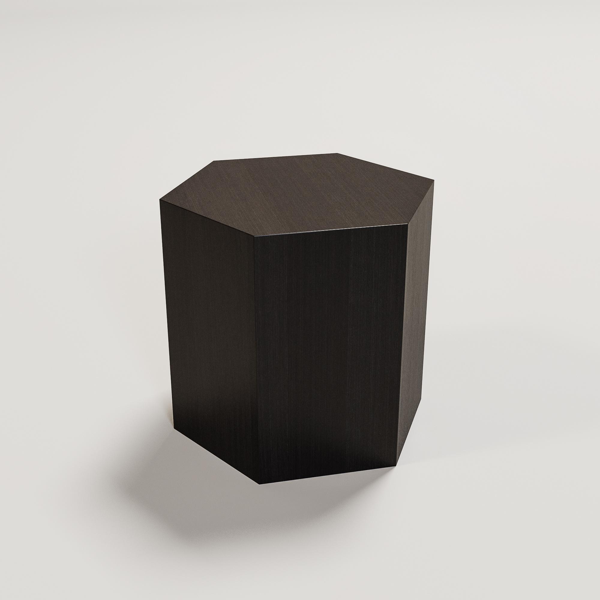 SALERNO side table hexagon smoke-1