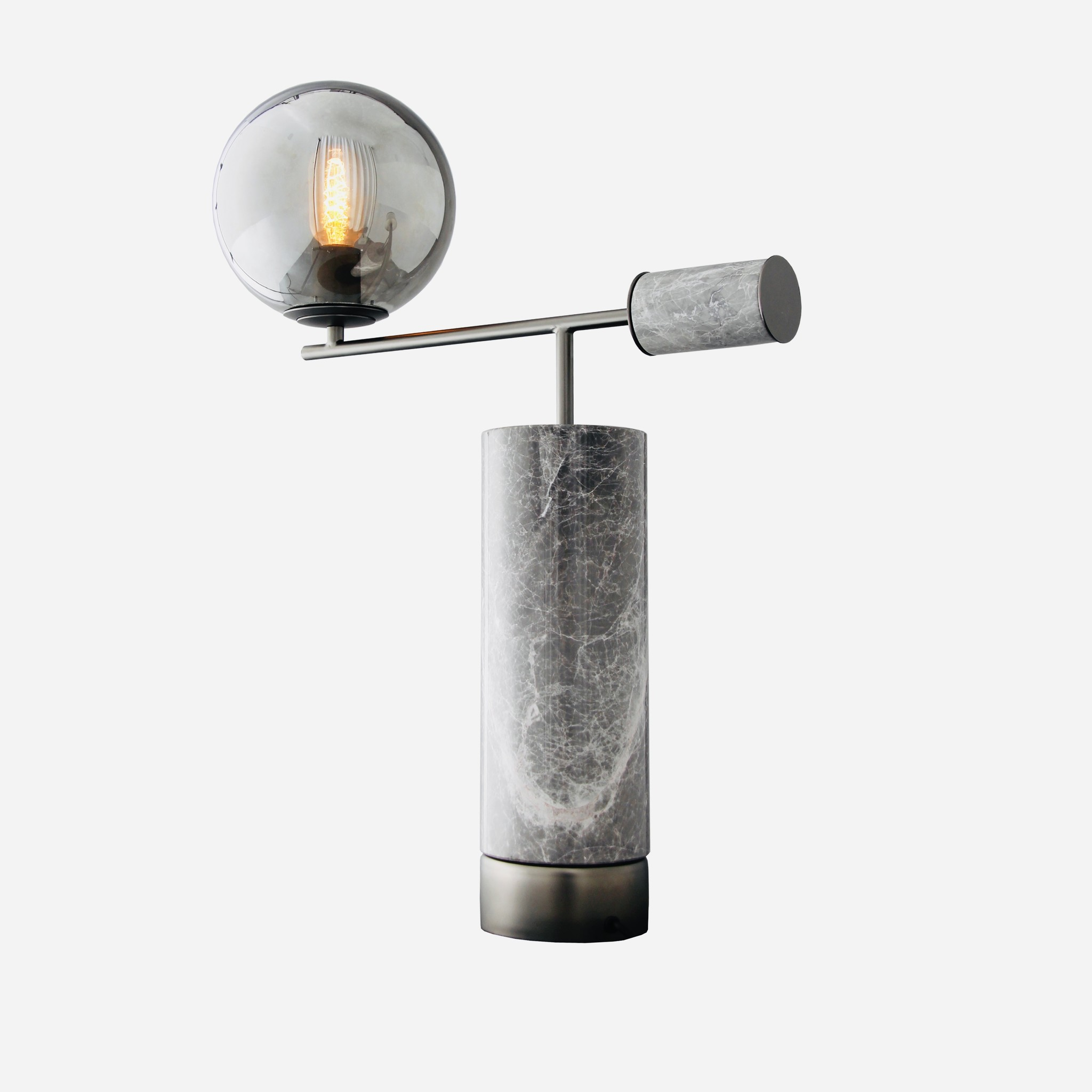 GIORGIA Table Lamp  Grey-1
