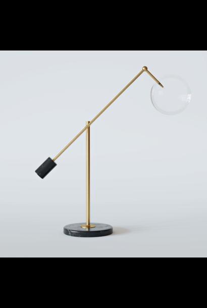 CAPRI Table Lamp Brushed Brass