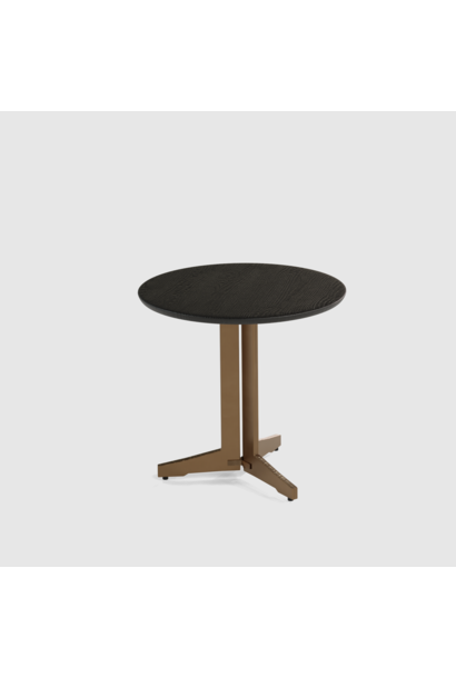 Luna end table wood small 40cm