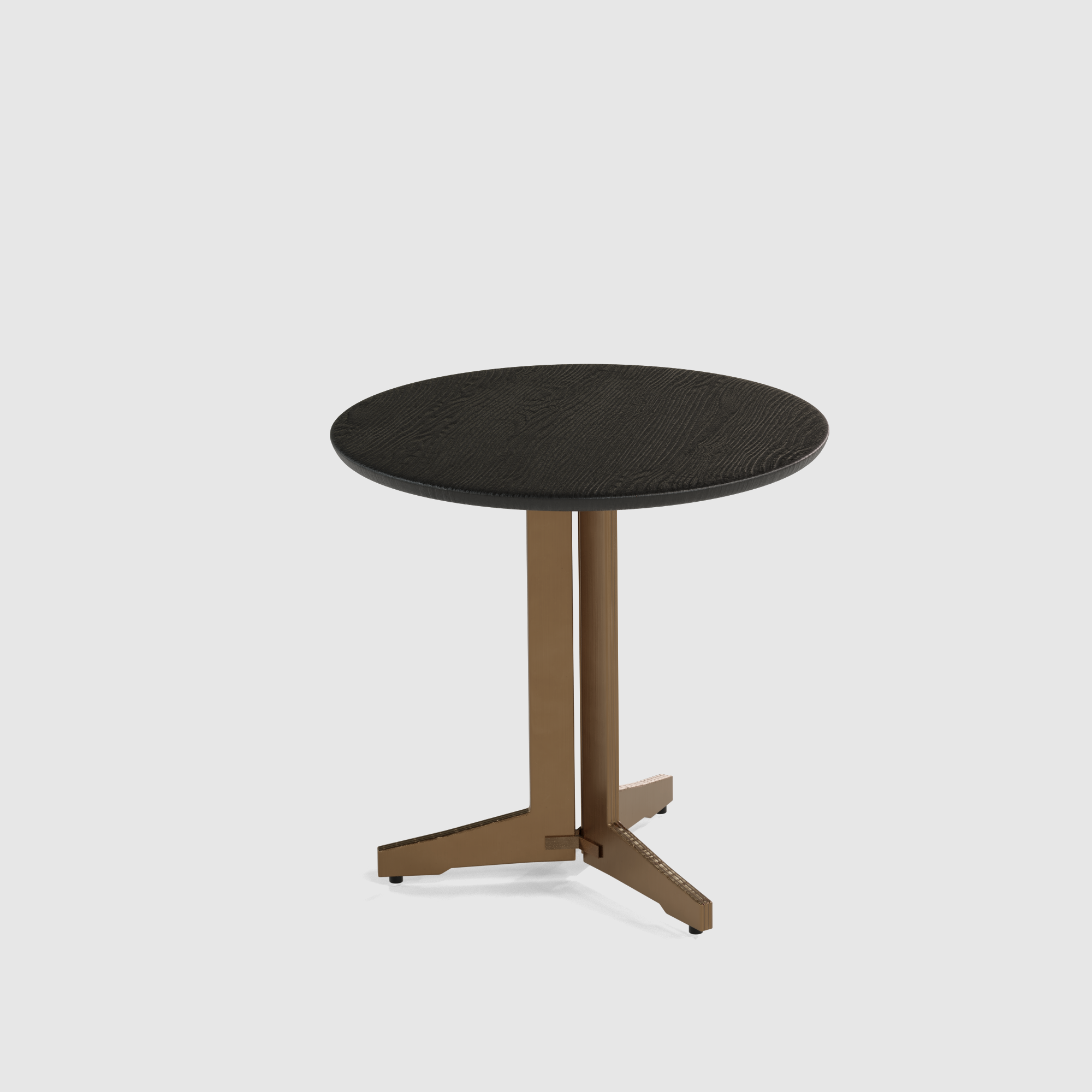 Luna end table wood small 40cm-1