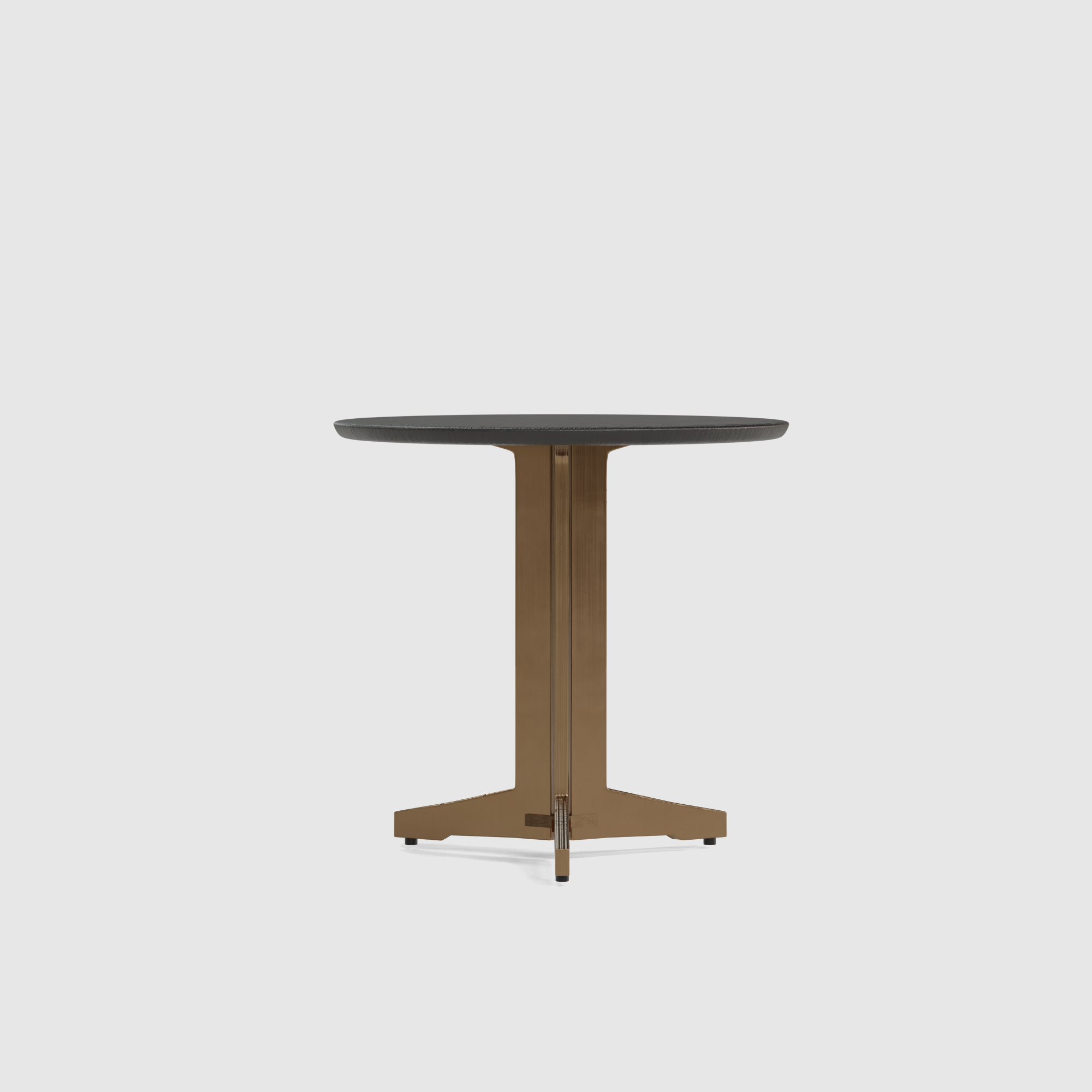 Luna end table wood small 40cm-2