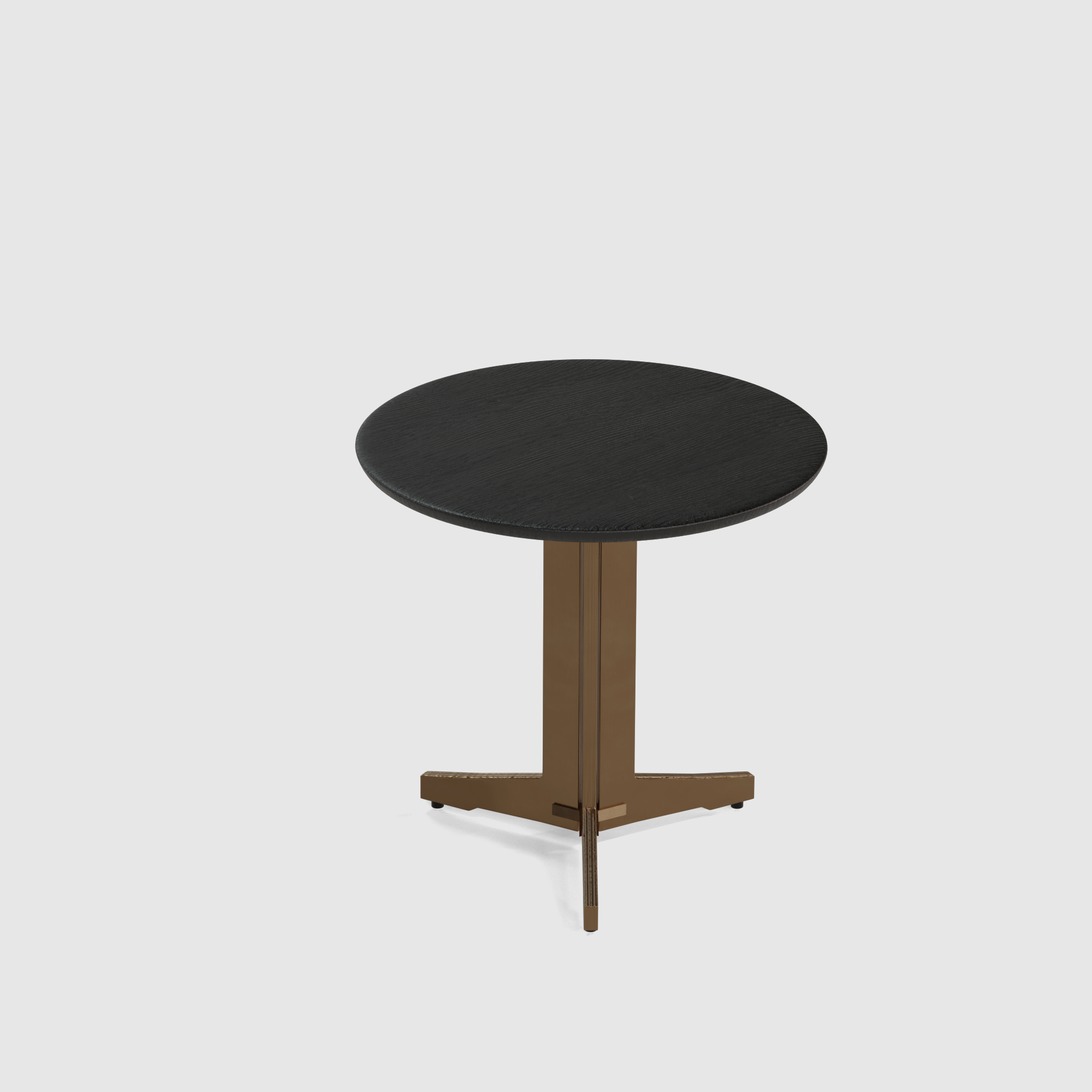 Luna end table wood small 40cm-3