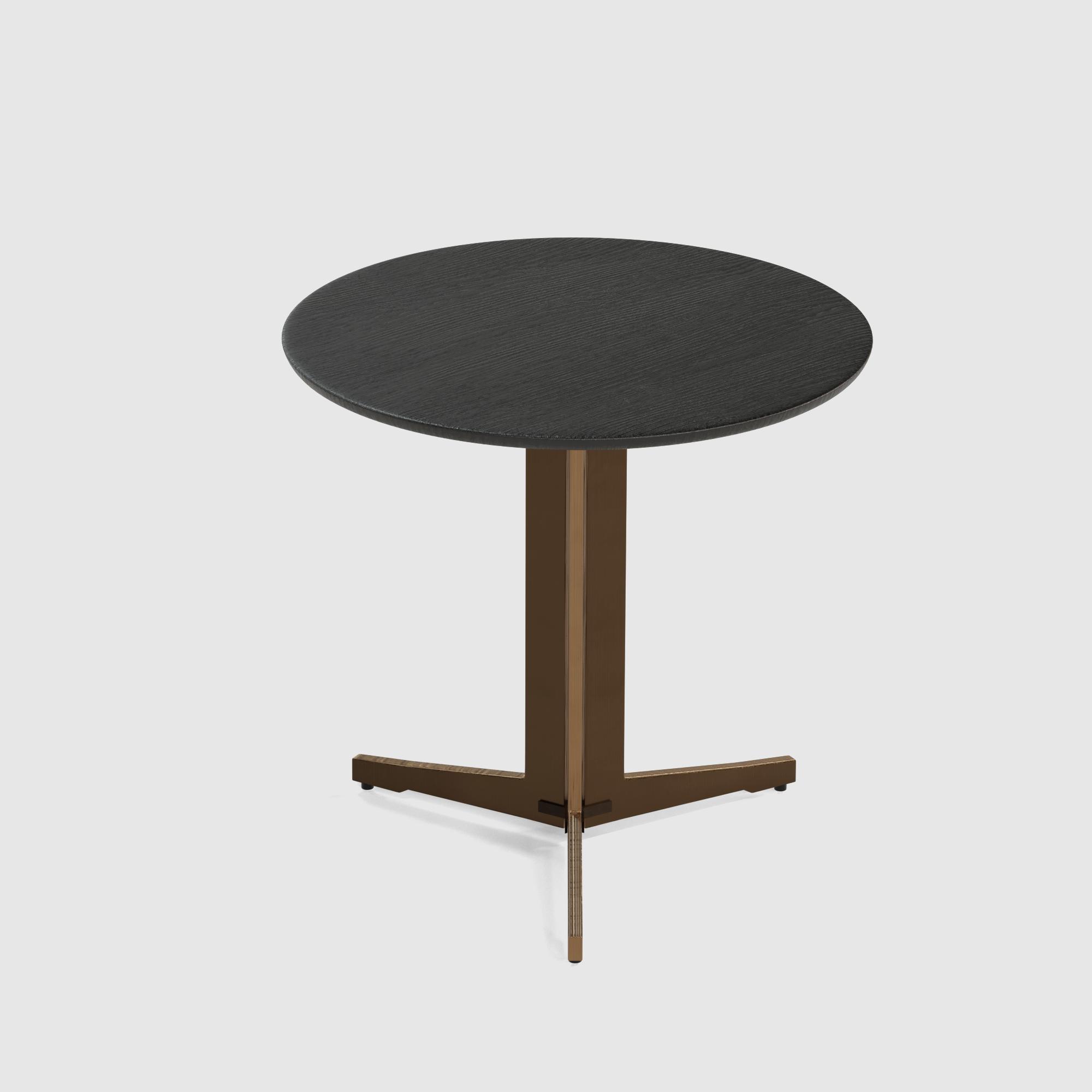 Luna end table large 60cm oak veneer-2
