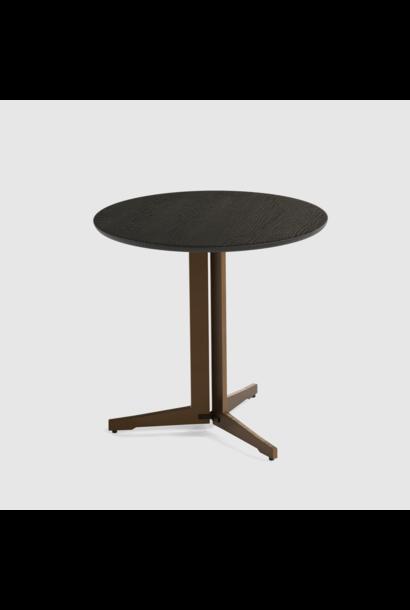 Luna end table large 60cm oak veneer