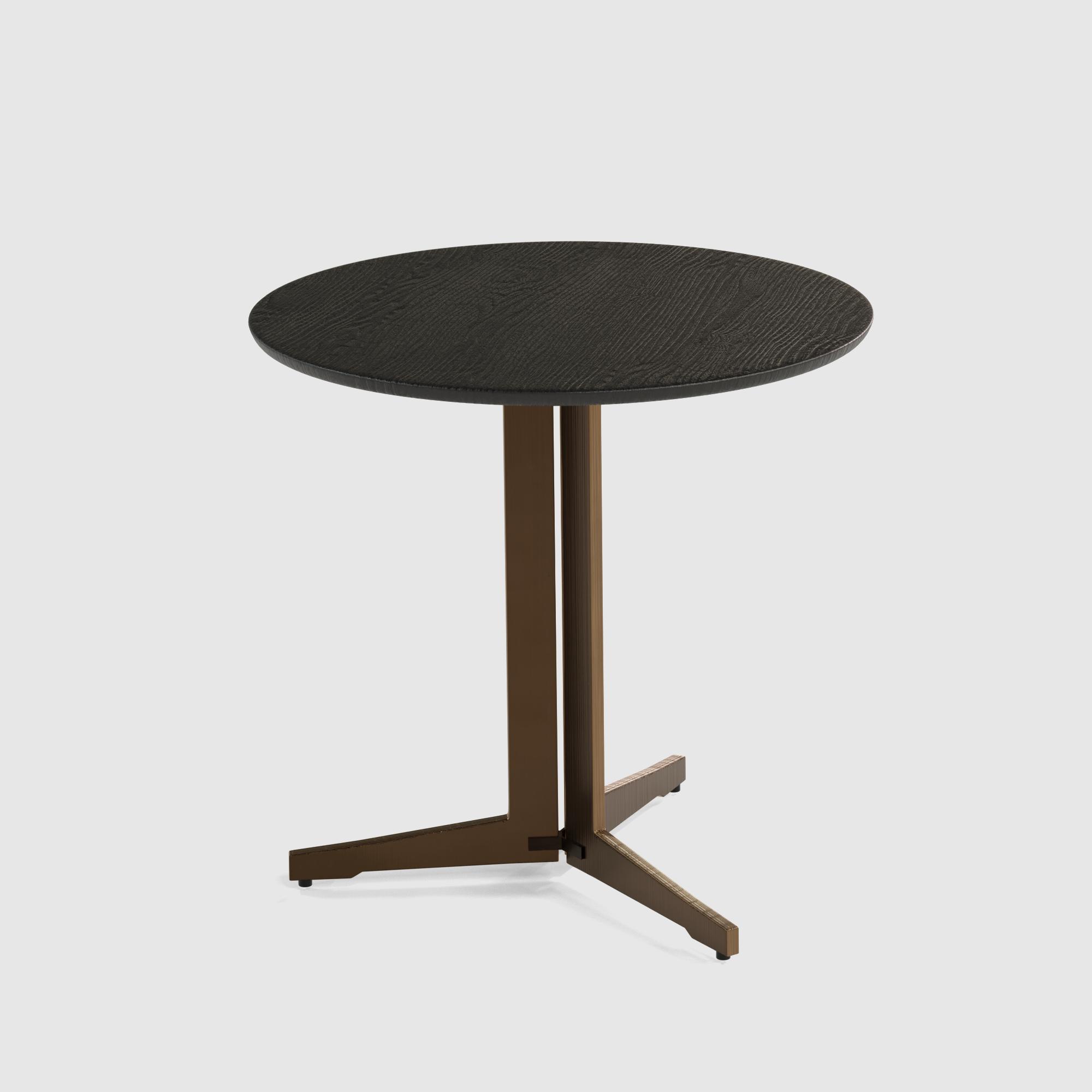 Luna end table large 60cm oak veneer-1