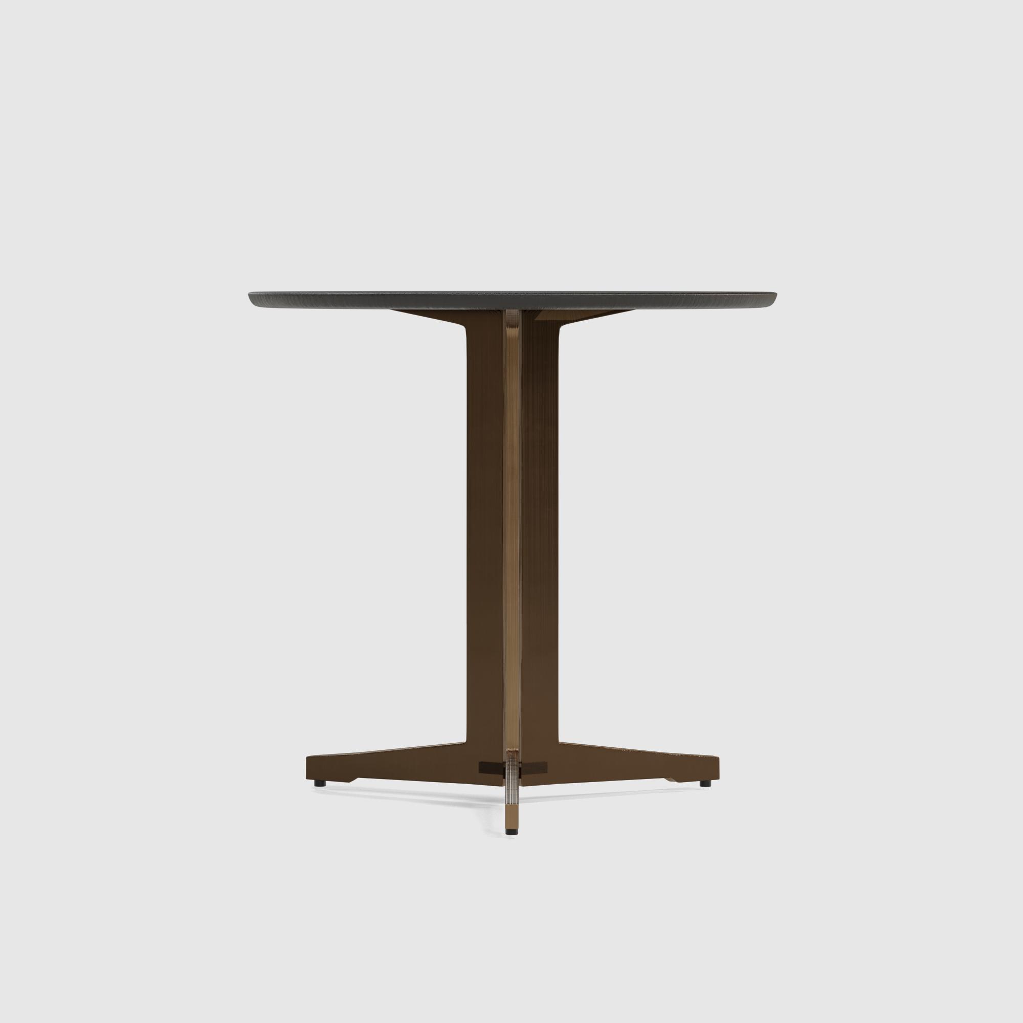 Luna end table large 60cm oak veneer-3
