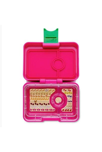 Yumbox MiniSnack 3-vakken Cherie roze