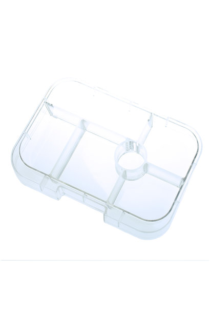 Yumbox Original tray 6-sections Transparant