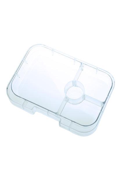 Yumbox Panino tray 4-sections Transparant