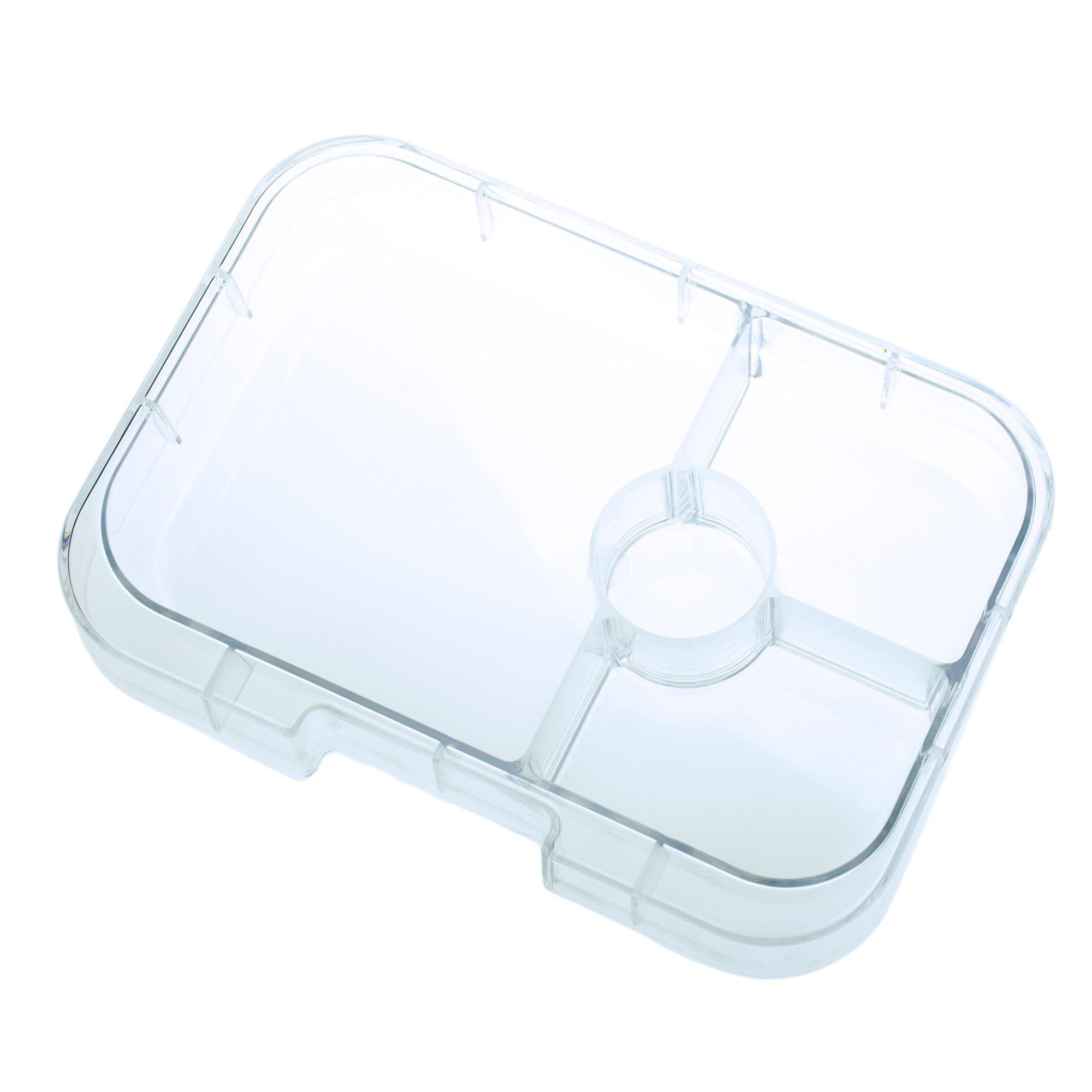 Yumbox Panino tray 4-sections Transparant-1