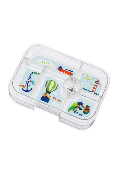 Yumbox Original tray 6-sections Explore