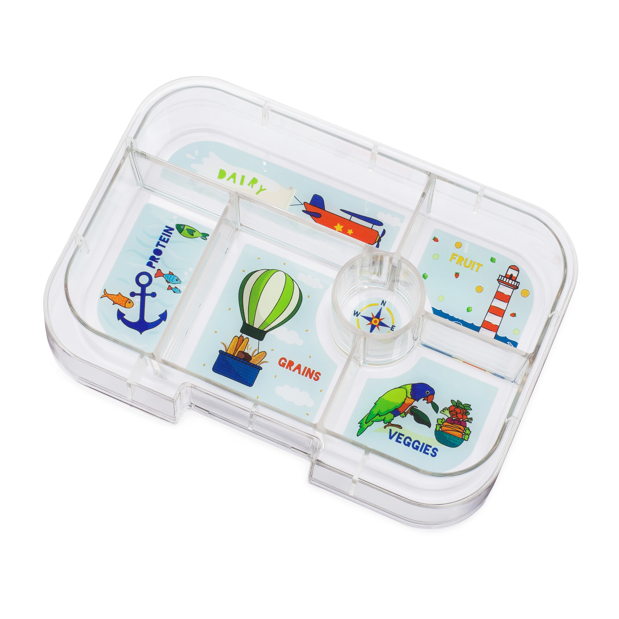 Yumbox Original tray 6-sections Explore-1