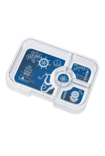 Yumbox Tapas XL tray 4-sections Explore