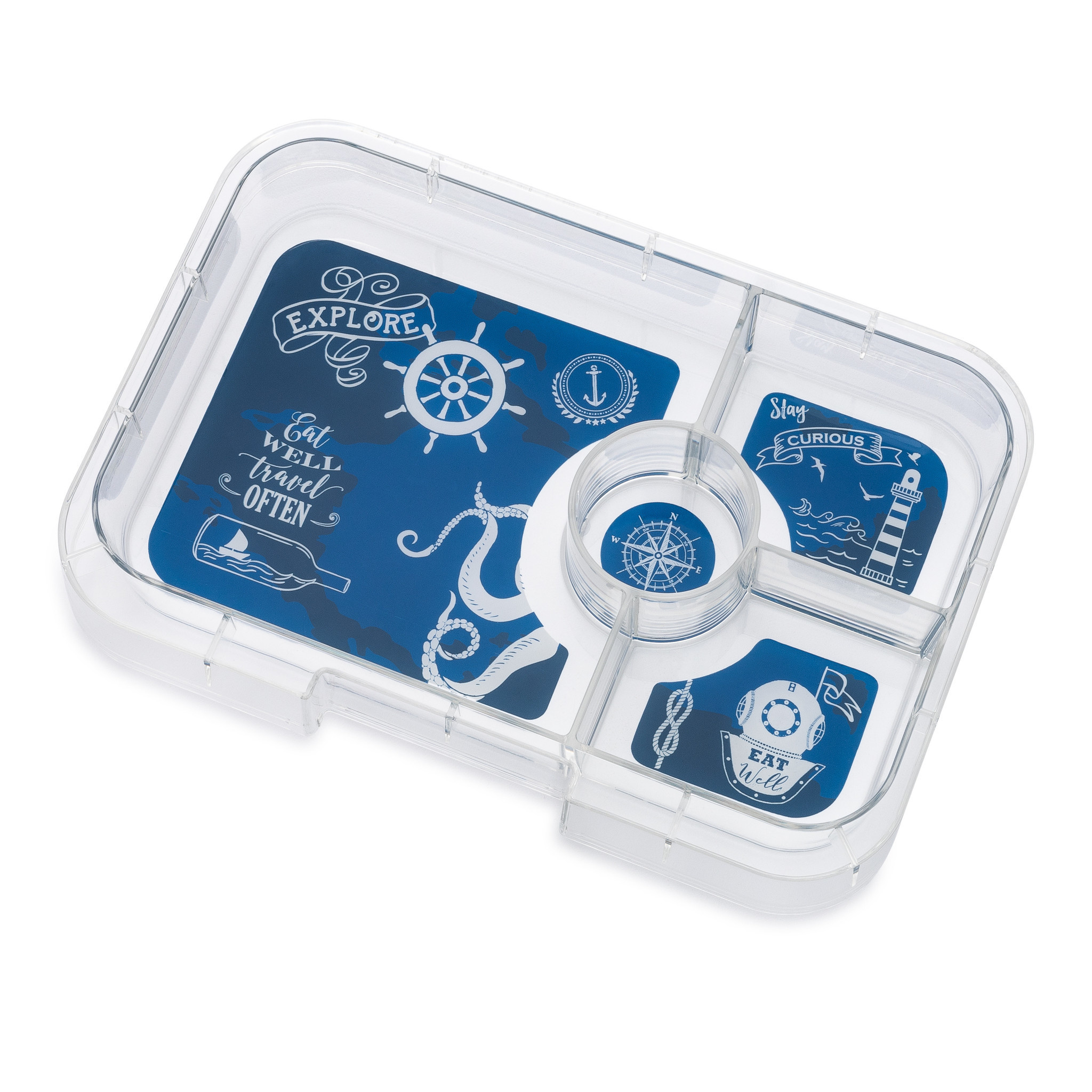 Yumbox Tapas tray 4-sections Explore-1