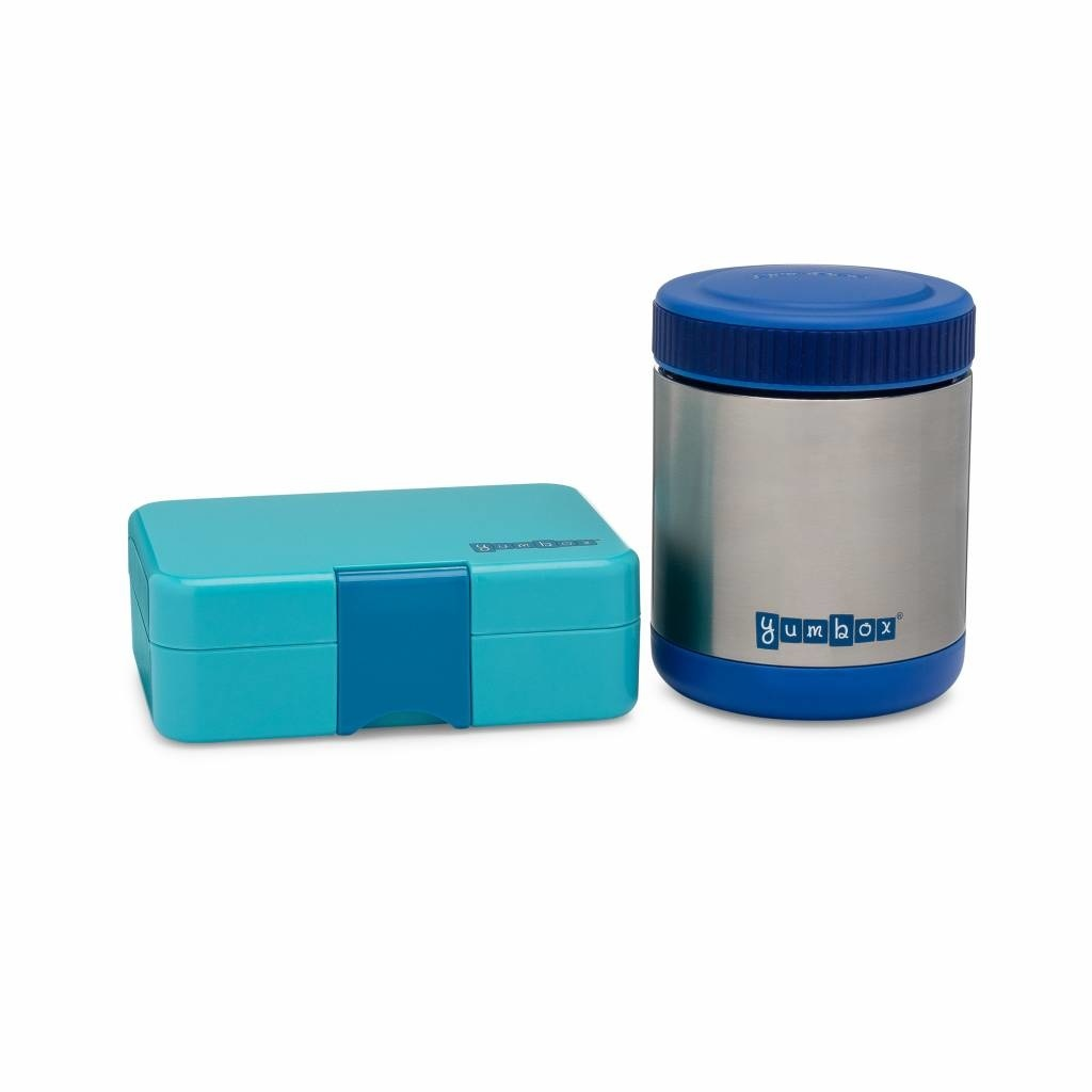 Yumbox Zuppa blue with spoon-6