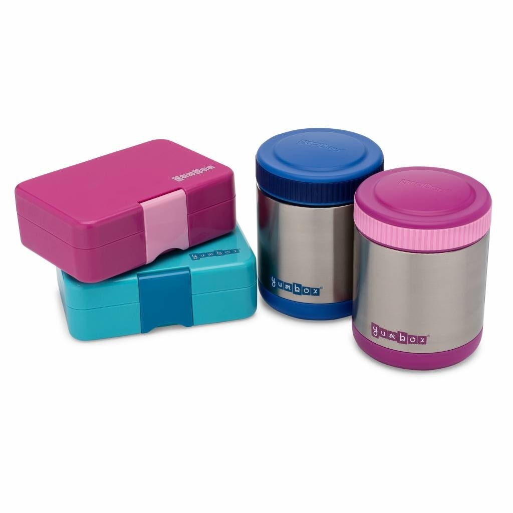 Yumbox Zuppa thermos container Bijoux paars met lepel-4