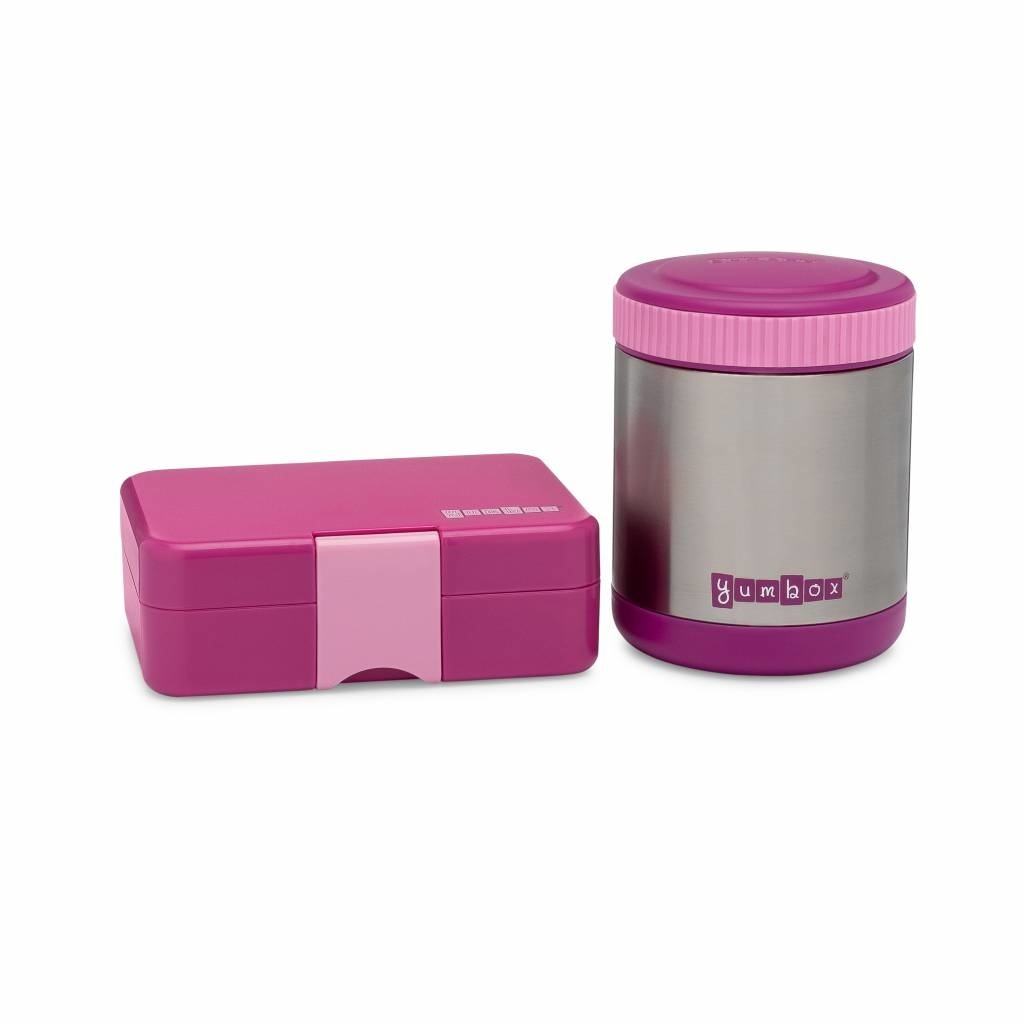 Yumbox Zuppa thermos container Bijoux paars met lepel-5