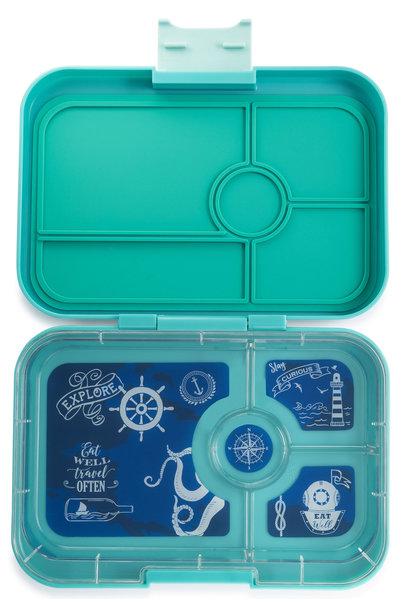 Yumbox Tapas XL 4-vakken Antibes Blauw