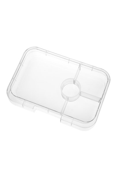 Yumbox Tapas XL tray 4-sections Transparant