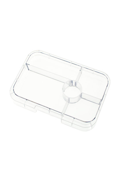 Yumbox Tapas tray 5-sections Transparant