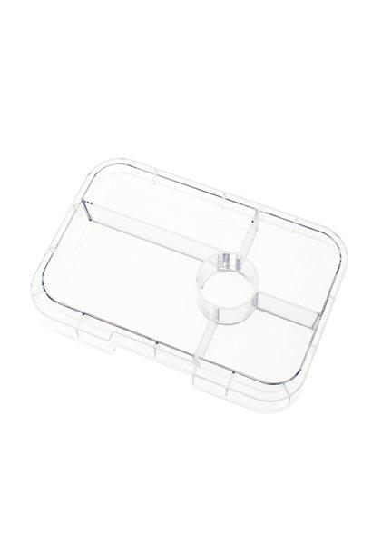 Yumbox Tapas XL tray 5-vakken Transparant