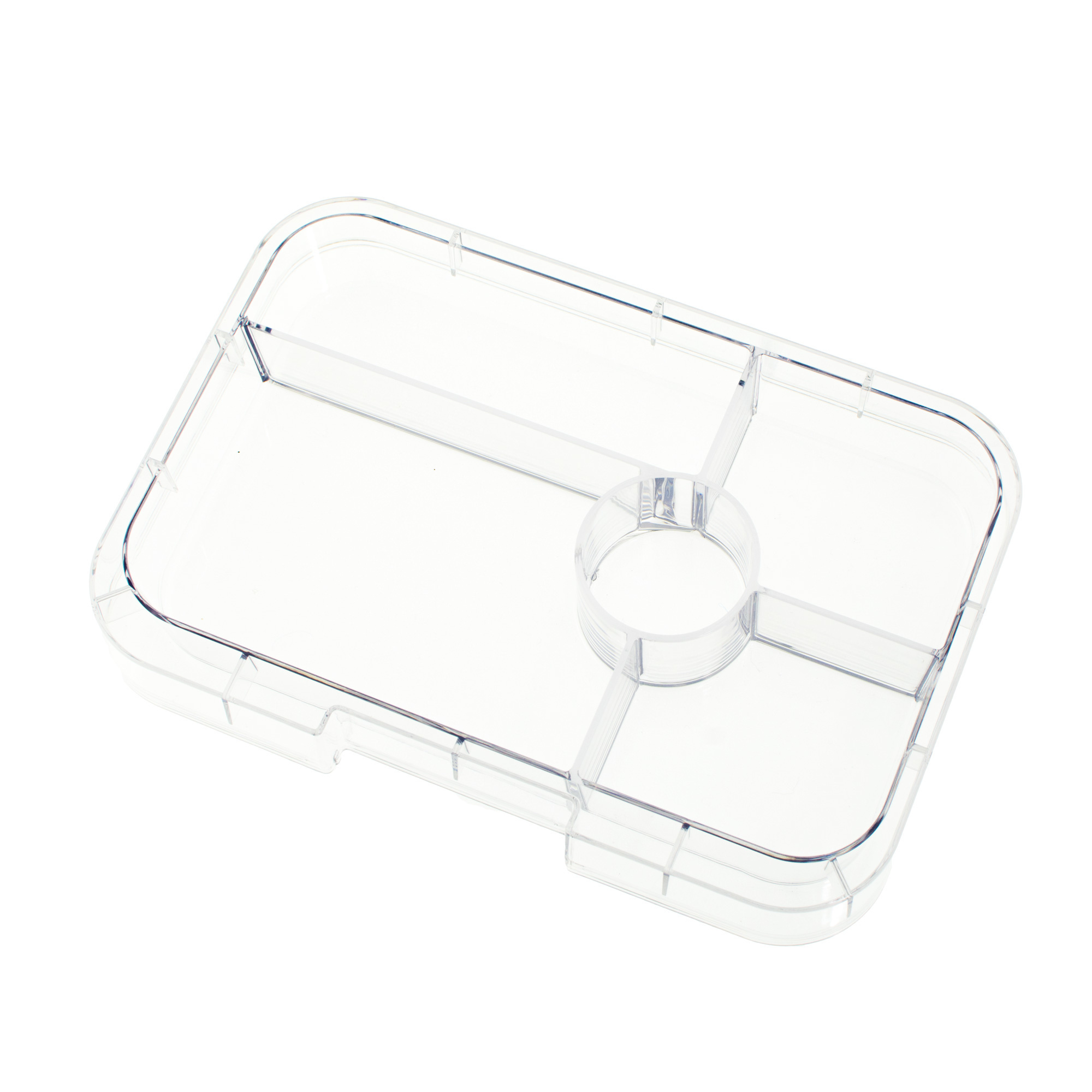 Yumbox Tapas tray 5-sections Transparant-1