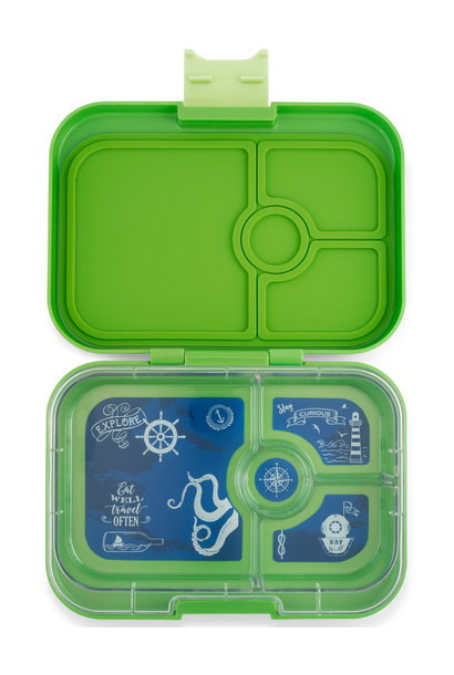 Yumbox Panino 4-sections Cilantro green