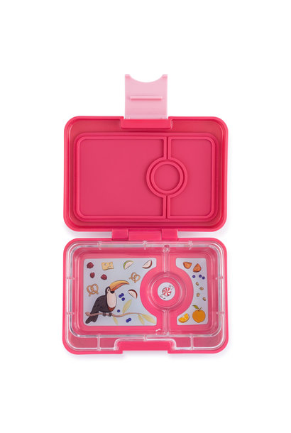 Yumbox MiniSnack 3-sections Lotus pink