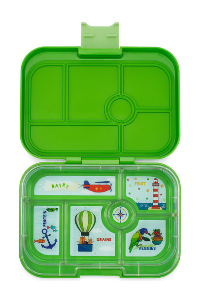 Yumbox Original 6-sections Cilantro green