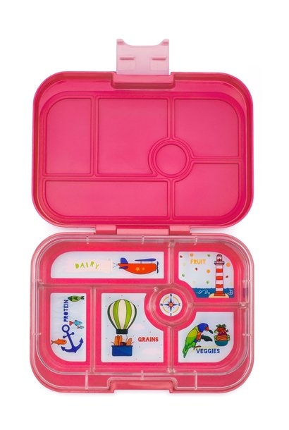 Yumbox Original 6-sections Lotus pink