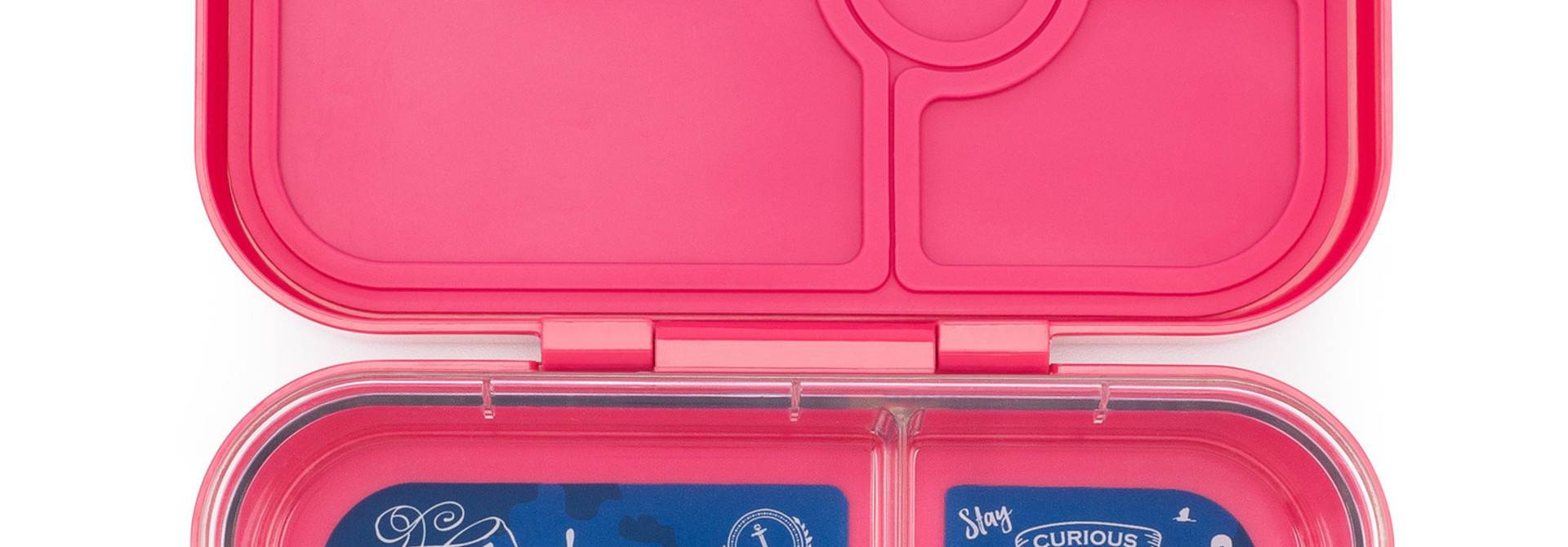 Yumbox Panino 4-sections Lotus pink / Explore tray