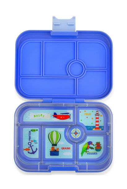 Yumbox Original 6-sections Jodphur blue