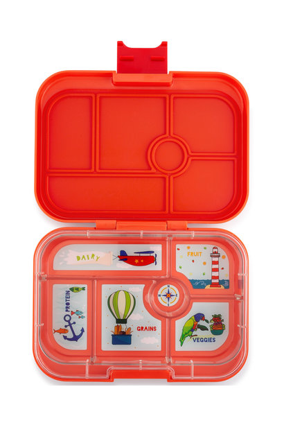 Yumbox Original 6-sections Saffron orange