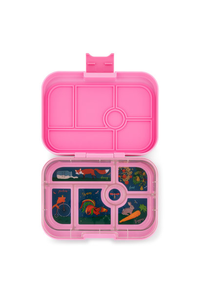 Yumbox Original 6-sections Stardust pink
