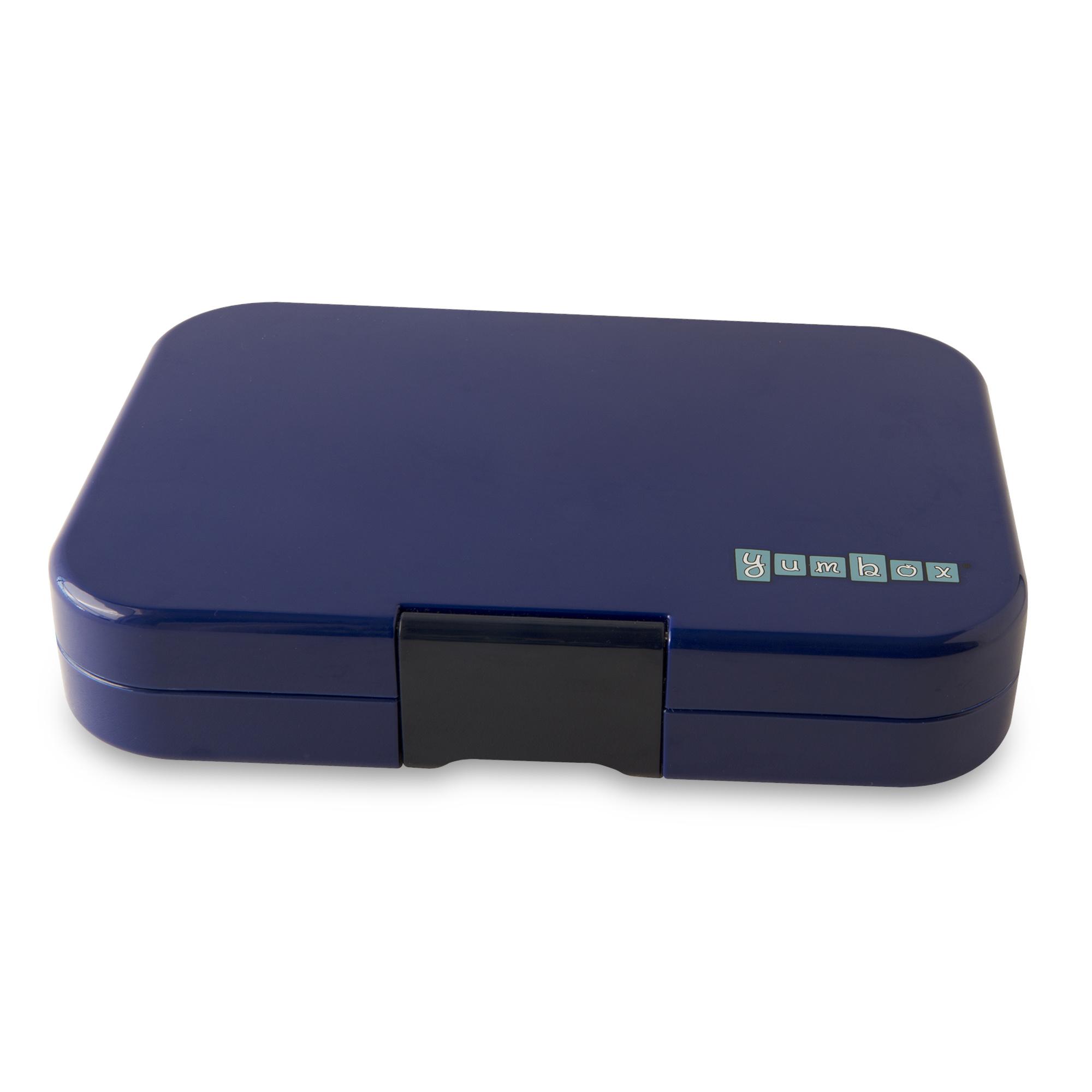 Yumbox Tapas XL 4-sections Portofino blue / Explore tray-3