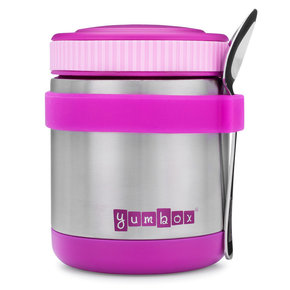 Yumbox Zuppa thermos container Bijoux paars purple with spoon