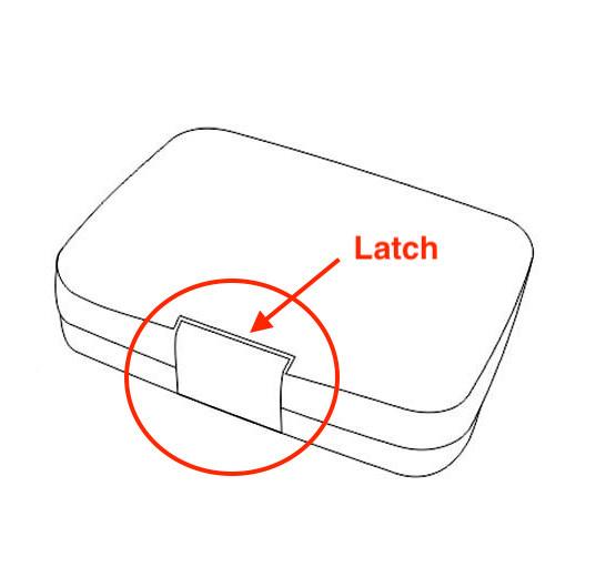 Extra latch MiniSnack-2