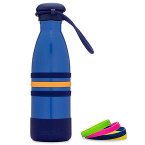 Yumbox Aqua thermos fles blauw